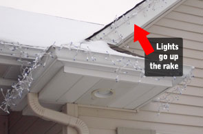 Christmas Light Roof Clips